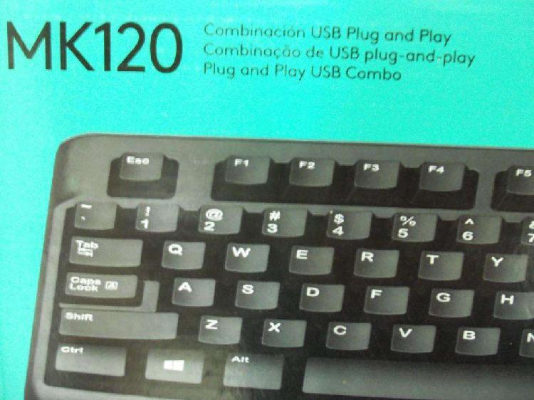 Teclado español con mouse 650 pesos nuevo en caja sin uso