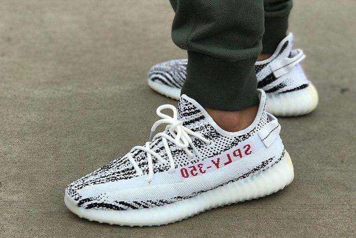 Adidas yeezy boost 350 zebra nuevas sin uso en caja original