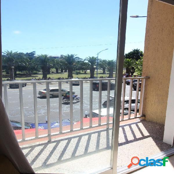 Ficha 139 departamento de dos ambientes a la calle con vista a la plaza colon