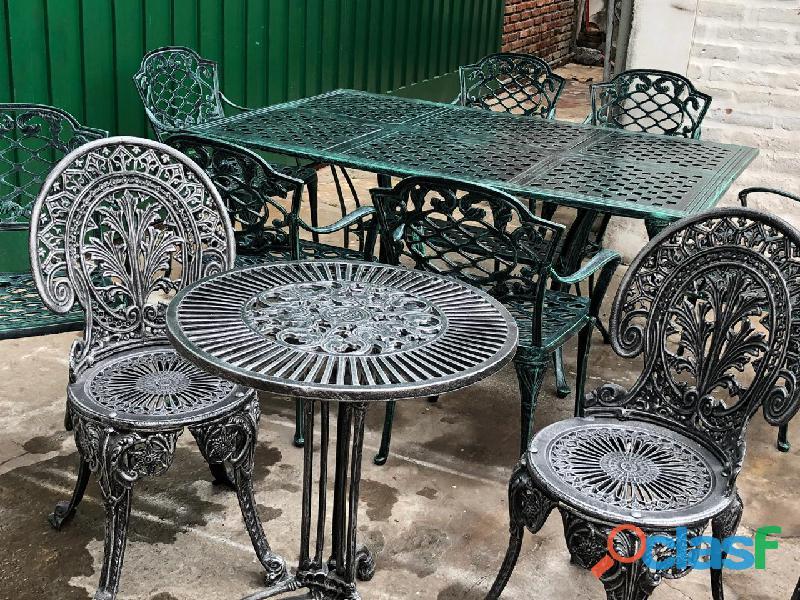 Juegos de mesa y silla de jardin