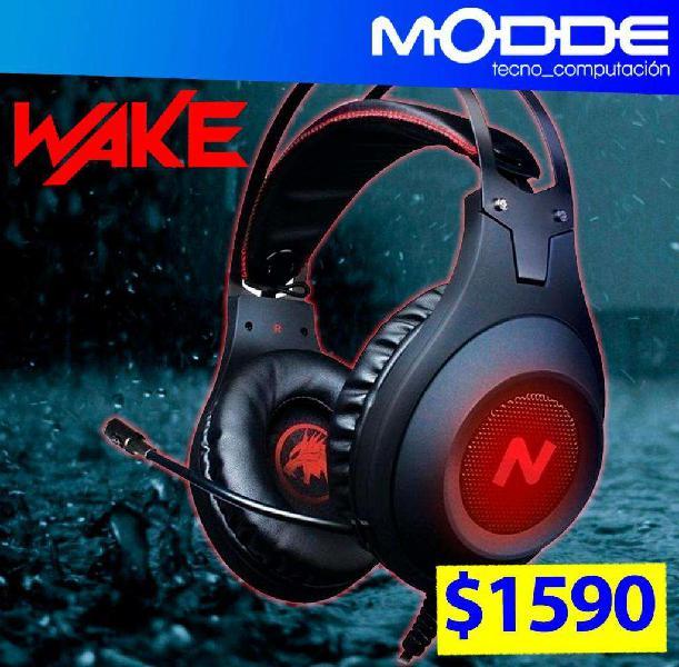 Auriculares gamer pc / ps4 st-wake // modde tecno