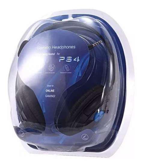 Auricular gamer pc ps4 playstation 4 microfono