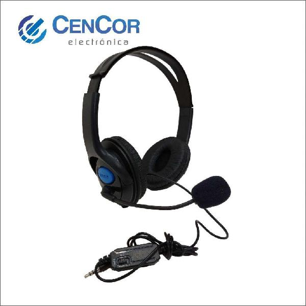 Auricular Headset Ps4! Cencor Electrónica