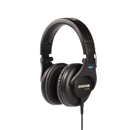 Auriculares shure srh440 estudio, grabación, dj garantía