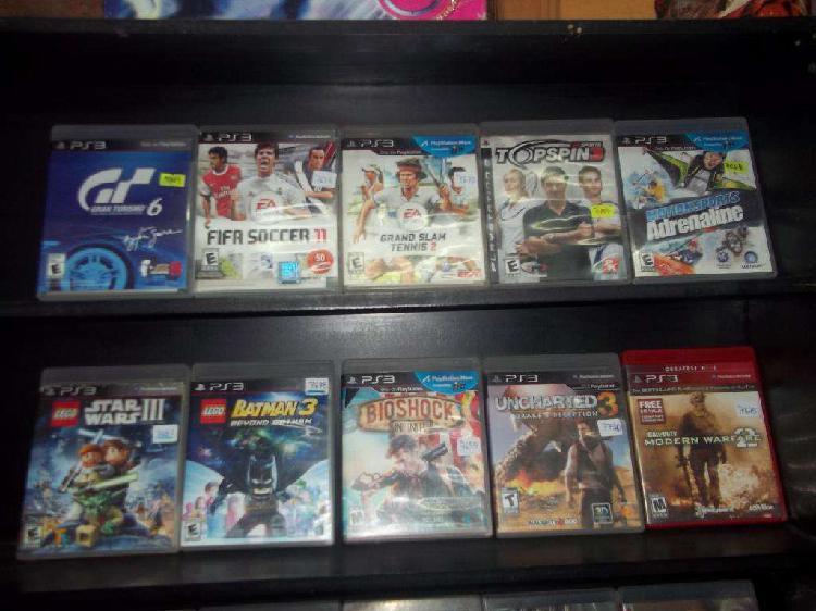 Juegos de play 3 y play 4 compra, canje y venta