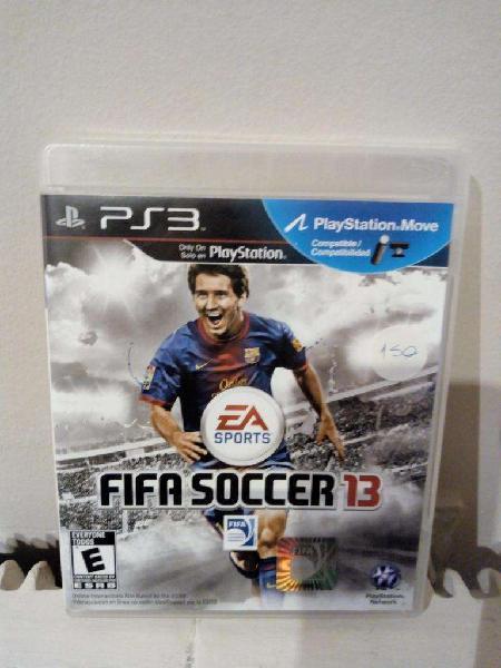 Juego fifa soccer 13 play station 3