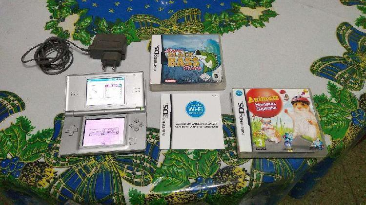 Nintendo Ds Lite Mas 2 Juegos