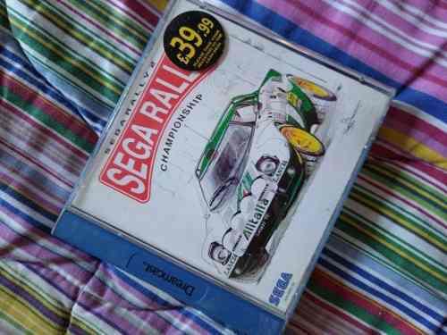 Sega rally 2 championship sega dreamcast europeo (españa)