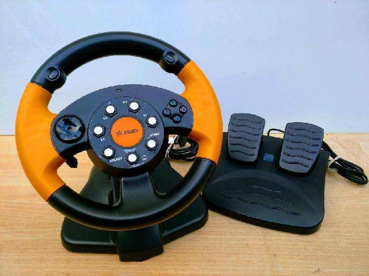 Volante Speed Pc Ps2 Ps3 Impecable