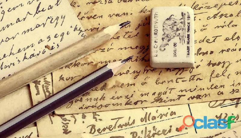 Redacción y edición de textos