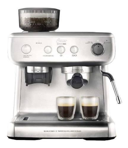 Cafetera espresso oster 7300 con molinillo barista 15 bares