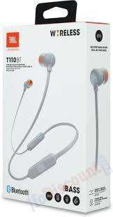 Auriculares blancos nuevos tune 110 bt bluetooth