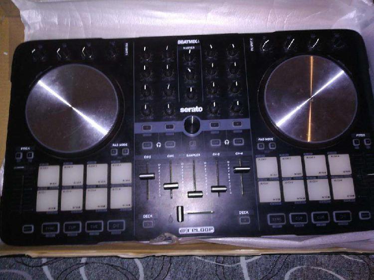 Controlador dj reloop beatmix 4 impecabl