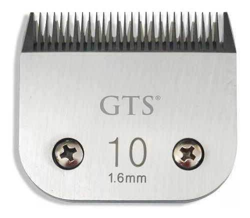 Cuchilla gts original 10 1,5mm para maquinas gts oster wahl