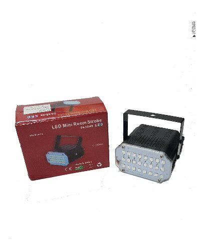 Flash luz portatil 24 led blanco ó rgb audioritmico. caba