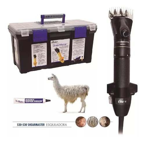 Maquina oster esquiladora shearmaster pelo/lana con maletin