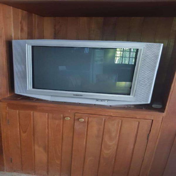 Tv 29 pulgadas sony mesa con ruedas