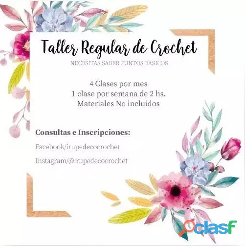 Clases regulares de crochet