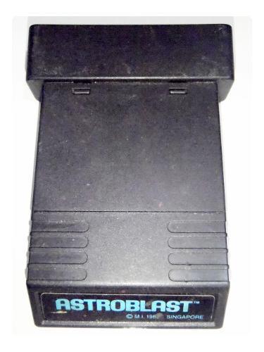 Astroblast cartucho juego atari 2600 rarity *2* funciona
