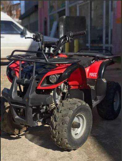 Cuatriciclo parrillero automatico dayama xd 90cc usado