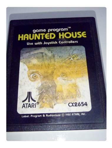 Haunted house cartucho juego atari 2600 rarity *2* funciona