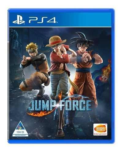 Jump force ps4 juego nuevo cd físico original sellado full