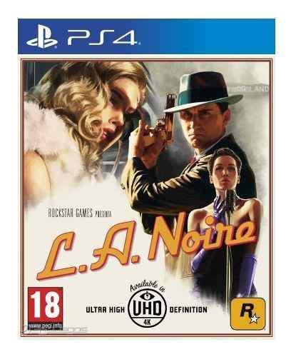 L.a. noire ps4 juego blu-ray nuevo original físico sellado