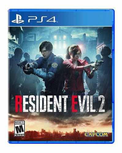 Resident evil 2 remake ps4 juego cd fisico original sellado