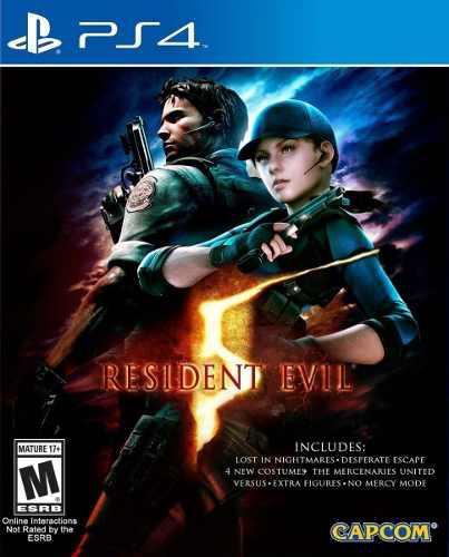 Resident evil 5 ps4 juego nuevo cd original fisico sellado
