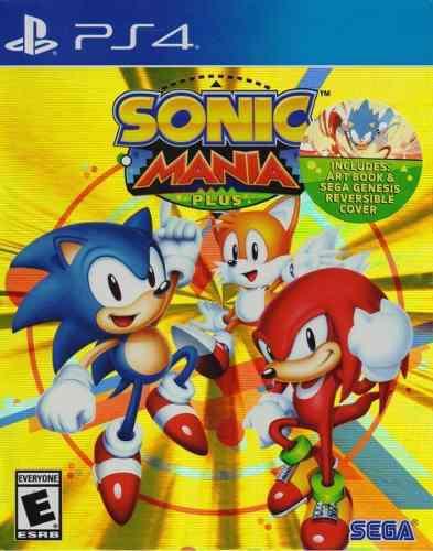 Sonic mania plus ps4 juego cd nuevo original fisico sellado
