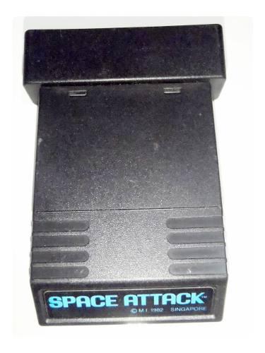 Space attack cartucho juego atari 2600 rarity *2* funciona