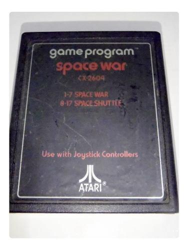 Space war cartucho juego atari 2600 rarity *2* funciona