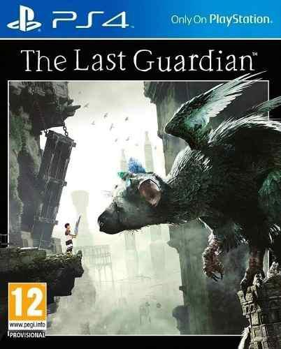 The last guardian ps4 juego original físico bluray