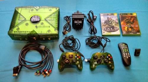 Xbox clásico halo special edition 500gb y 180 juegos