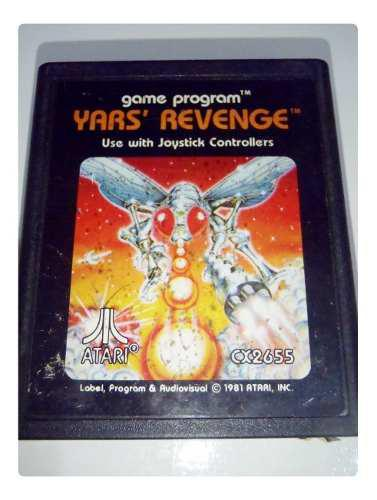 Yar's revenge cartucho juego atari 2600 rarity *2* funciona