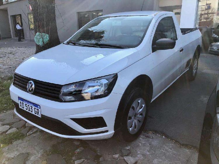 Volkswagen saveiro 2019 0 kilometro patentada