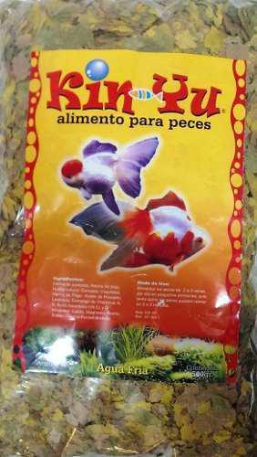 Alimento para peces agua fria escamas 500gr premiun