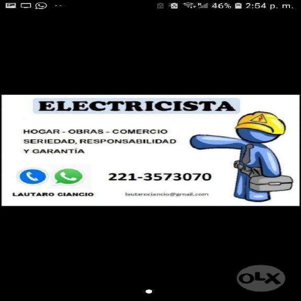Electricista la plata