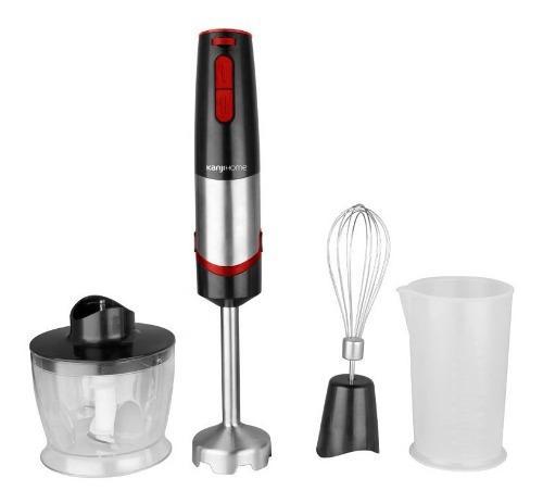 Minipimer kanji home 1000w mixer picador batidor + vaso