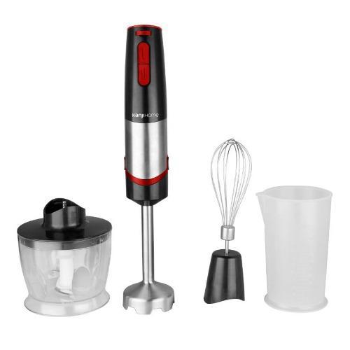 Minipimer kanji home 1000w mixer picador batidor + vaso ctas