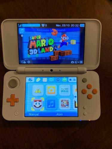 Nintendo 2ds xl (impecable) + 2 juegos