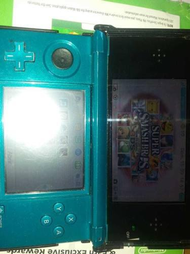 Nintendo 3ds como nueva, impecable!!