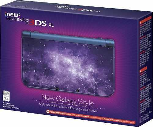 Nintendo 3ds New Xl Galaxy Original + 6 Ar Cards + Cargador