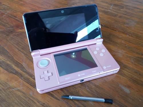 Nintendo 3ds rosa ¡para exigentes!