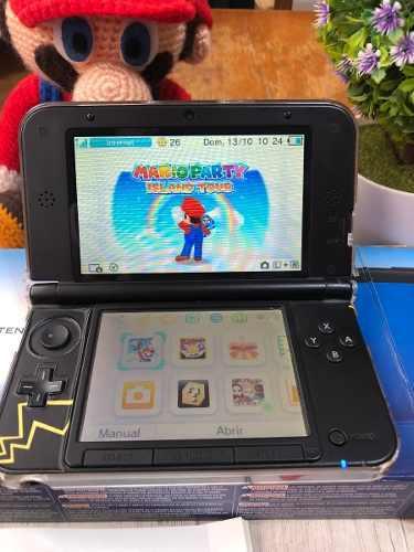 Nintendo 3ds xl como nueva + r4
