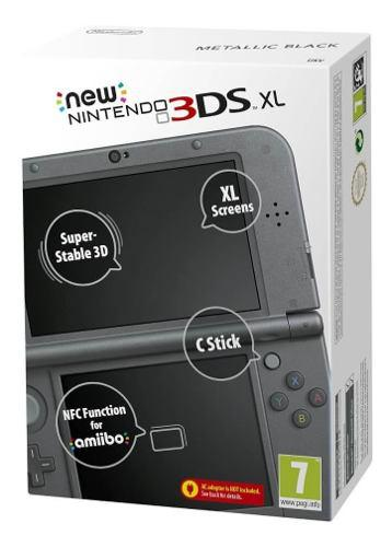 Nintendo 3ds xl core negra nueva sellada fantasytraderok