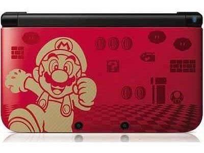 Nintendo 3ds xl edición súper mario bross 2 golf edition