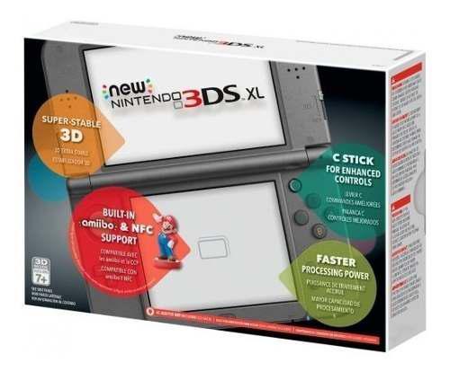 Nintendo new 3ds xl nuevas + 20 juegos regalo cargador