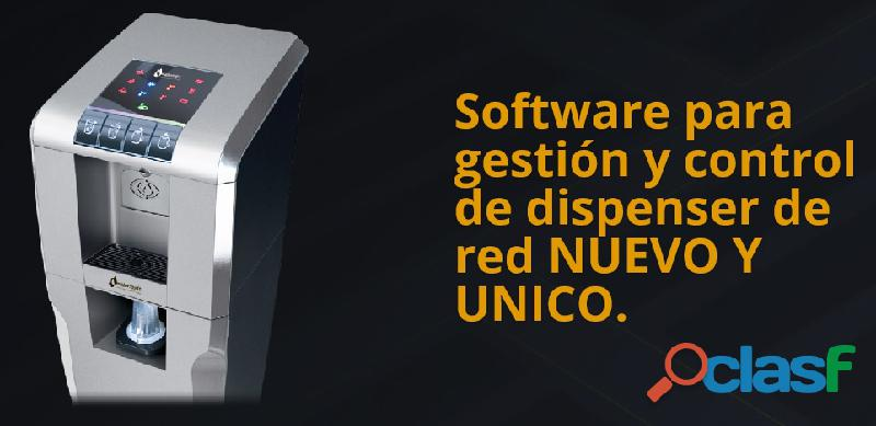 Software para el control, gestion de dispensadores conectados a la red