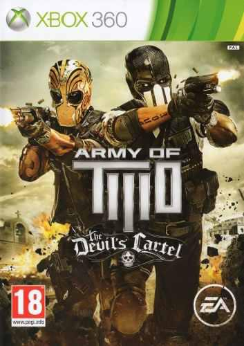 Army of two the devils cartel xbox 360 juego original fisico
